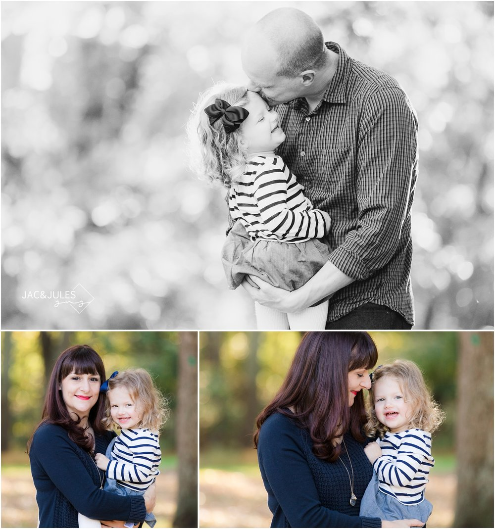 Fun fall family photos at Allaire State Park in Wall, NJ.