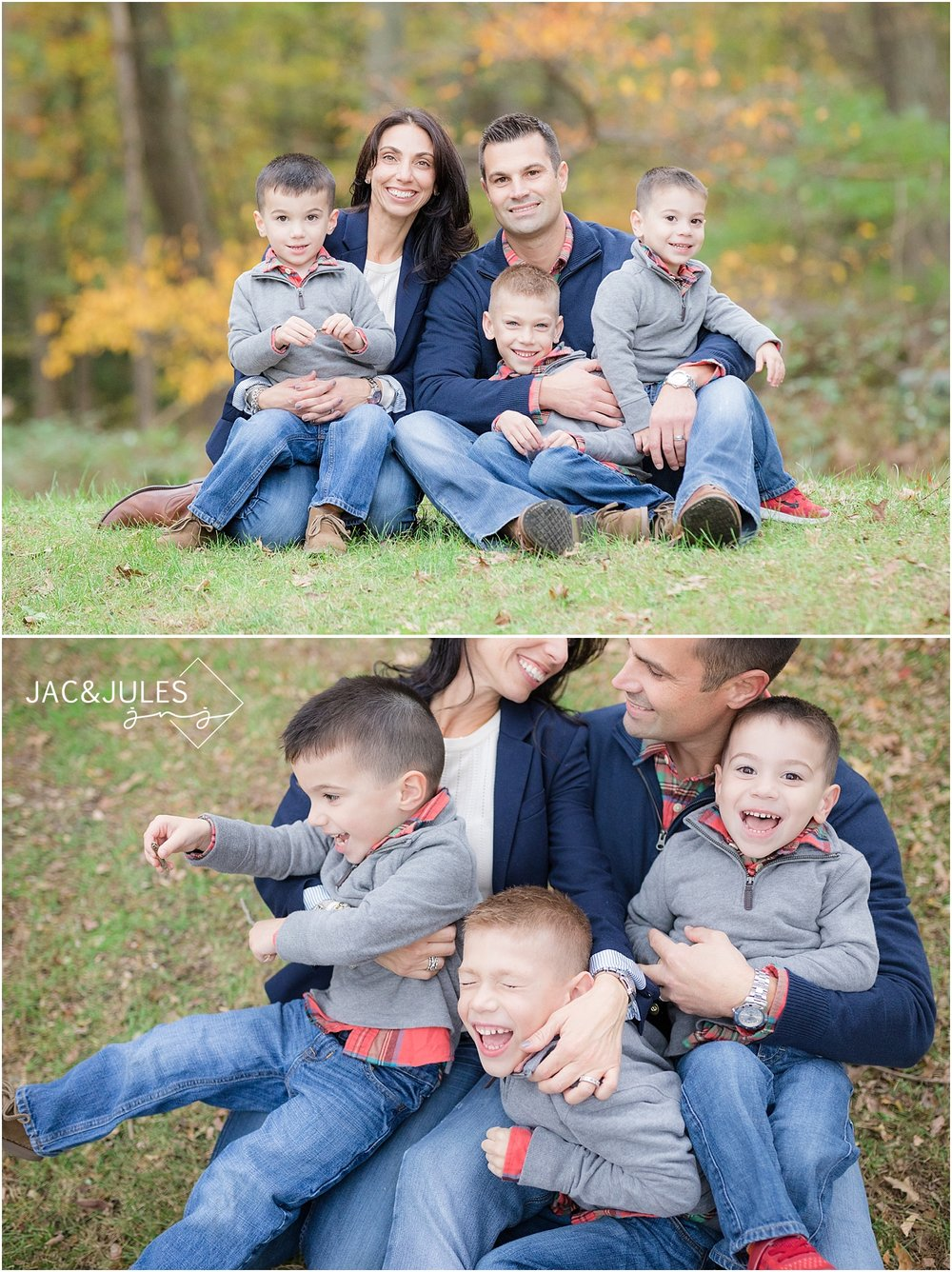 fun family photos at allaire state park nj