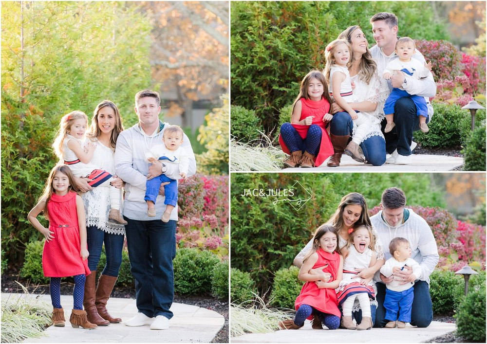 Pretty family photos at their home in Toms River, NJ.