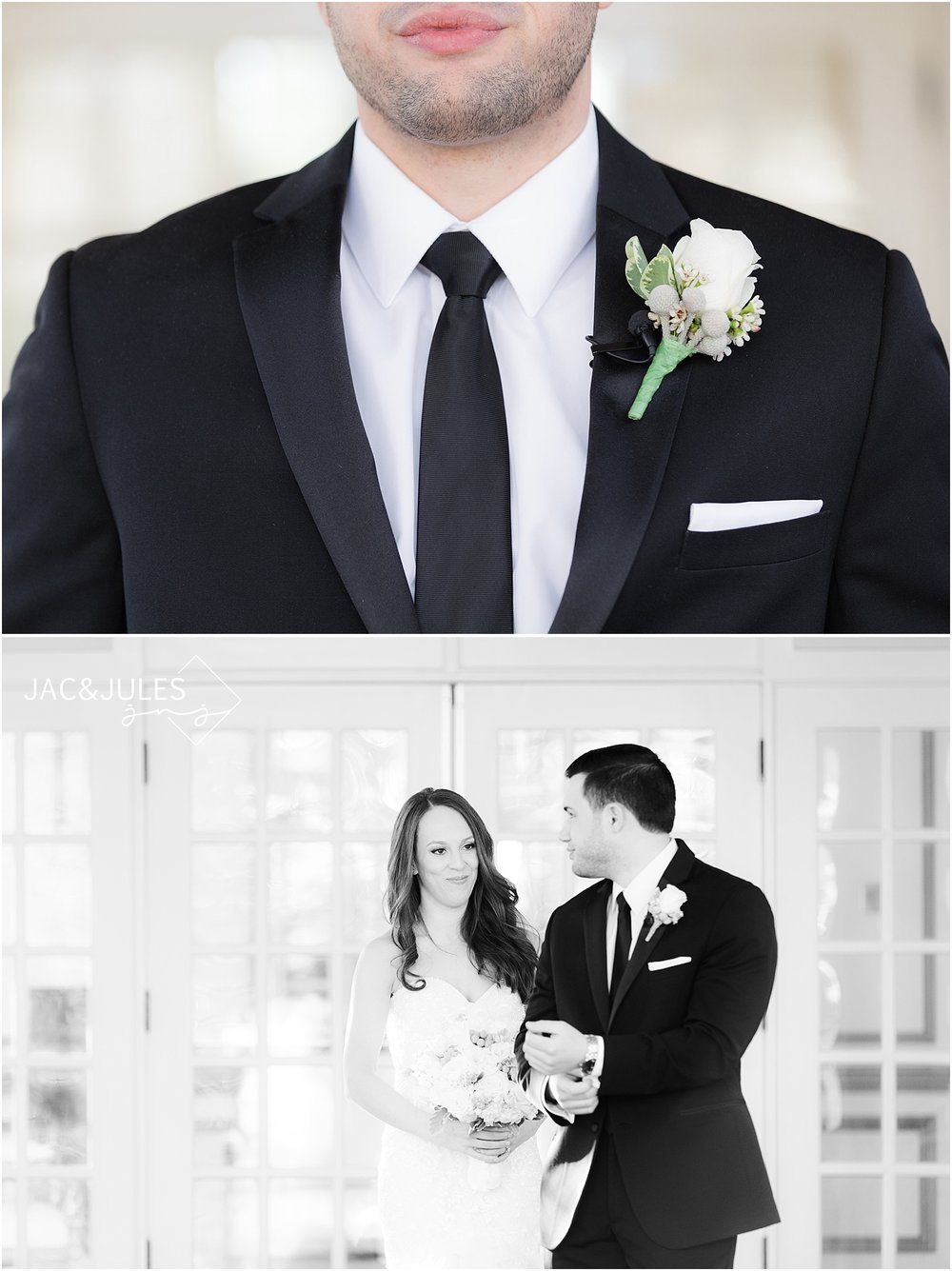 bride and groom portraits at crystal plaza