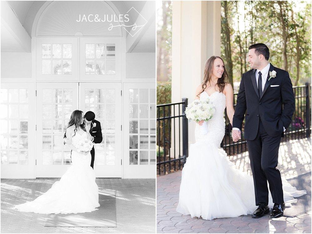 winter wedding in livingston nj