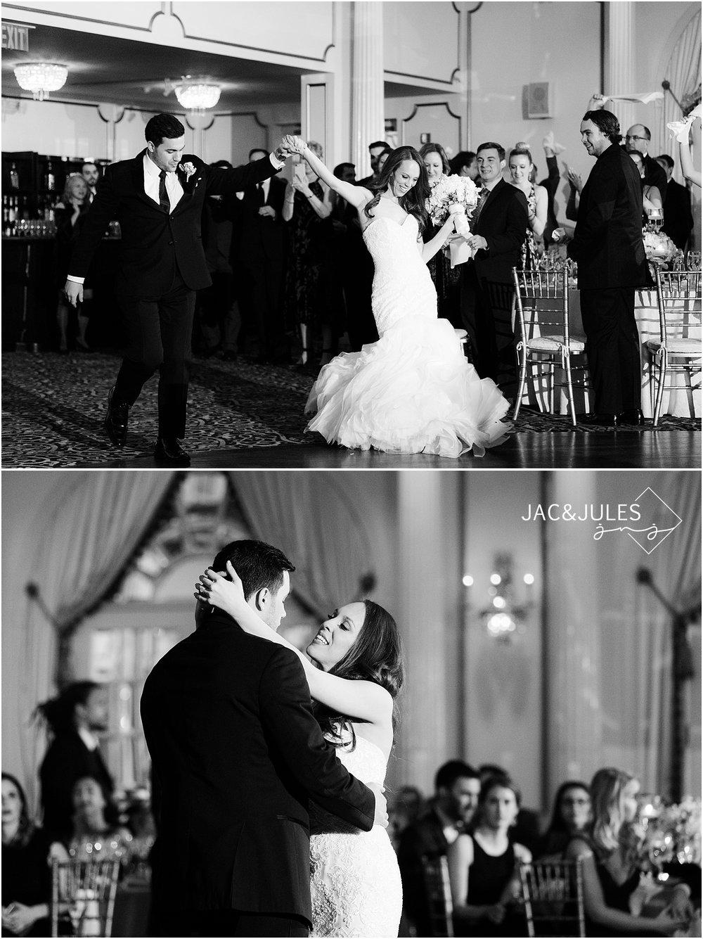 fun wedding reception photo at crystal plaza