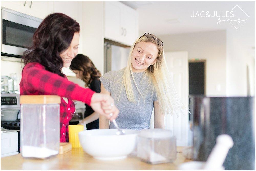 baking family photo