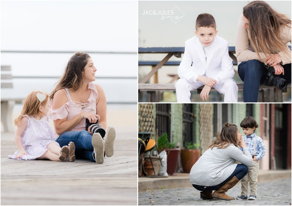 Jacqui, a photographer for Jac&Jules has deep conversations with her little subjects during their photo sessions.