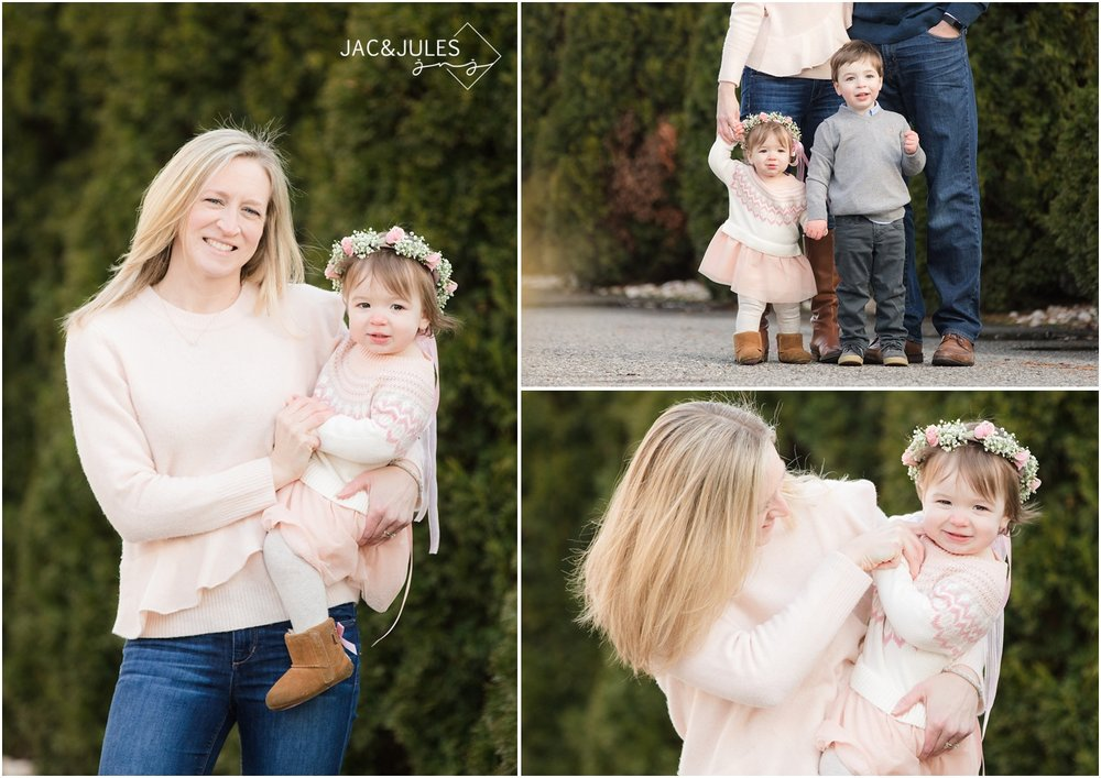 fun Family photos at home in Point Pleasant, NJ.