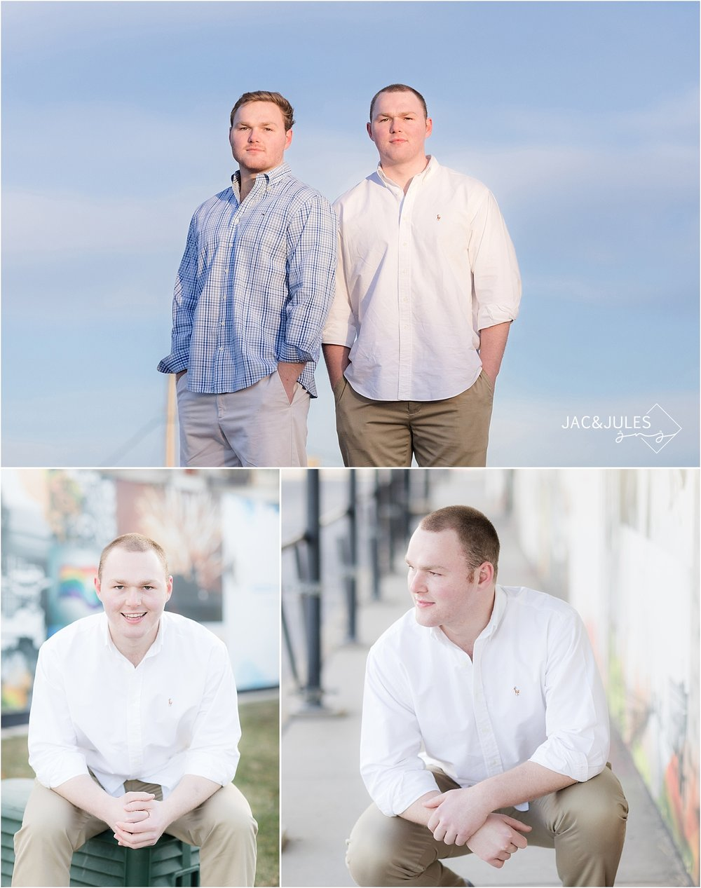 asbury park senior photos in monmouth county