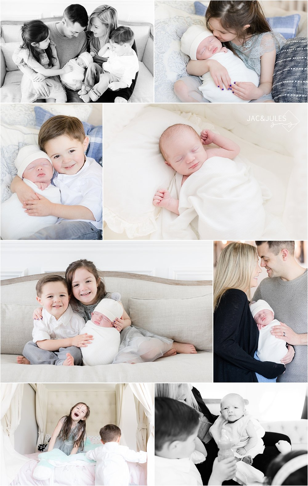 lifestyle newborn photography by jacnjules in nj