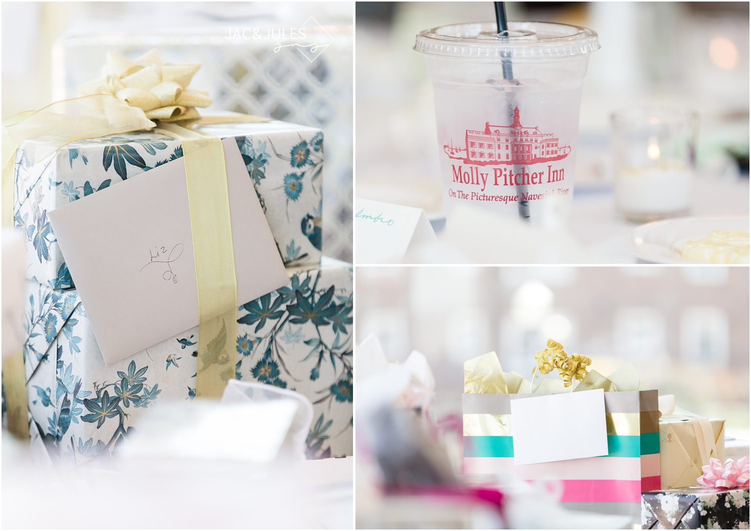Bridal Shower at Molly Pitcher Inn — Romantic NJ Wedding + Authentic ...