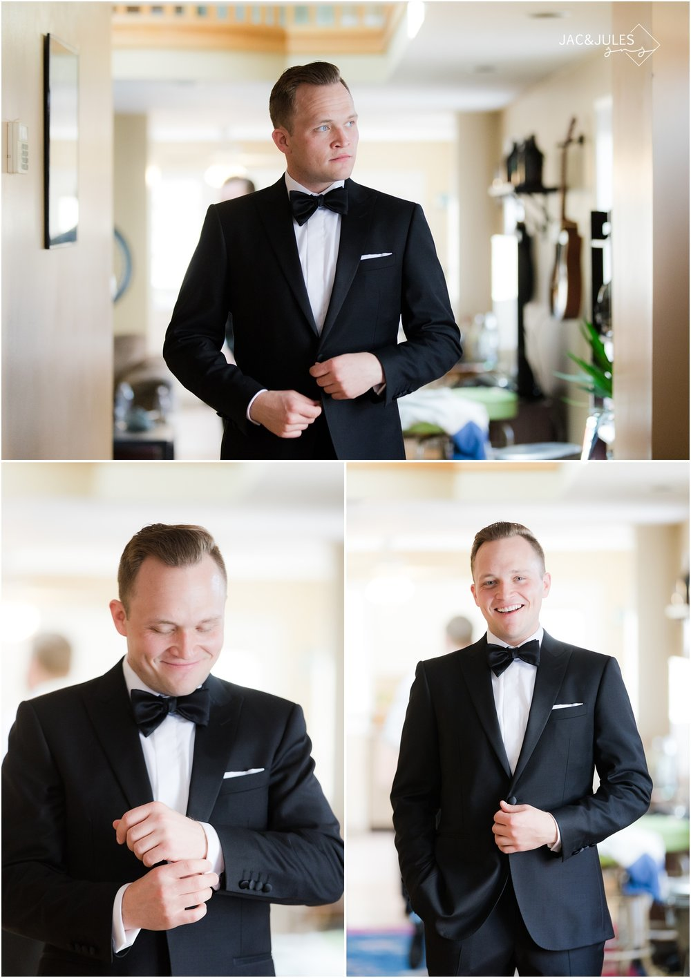 Groom portraits before a wedding in Baltimore, MD.