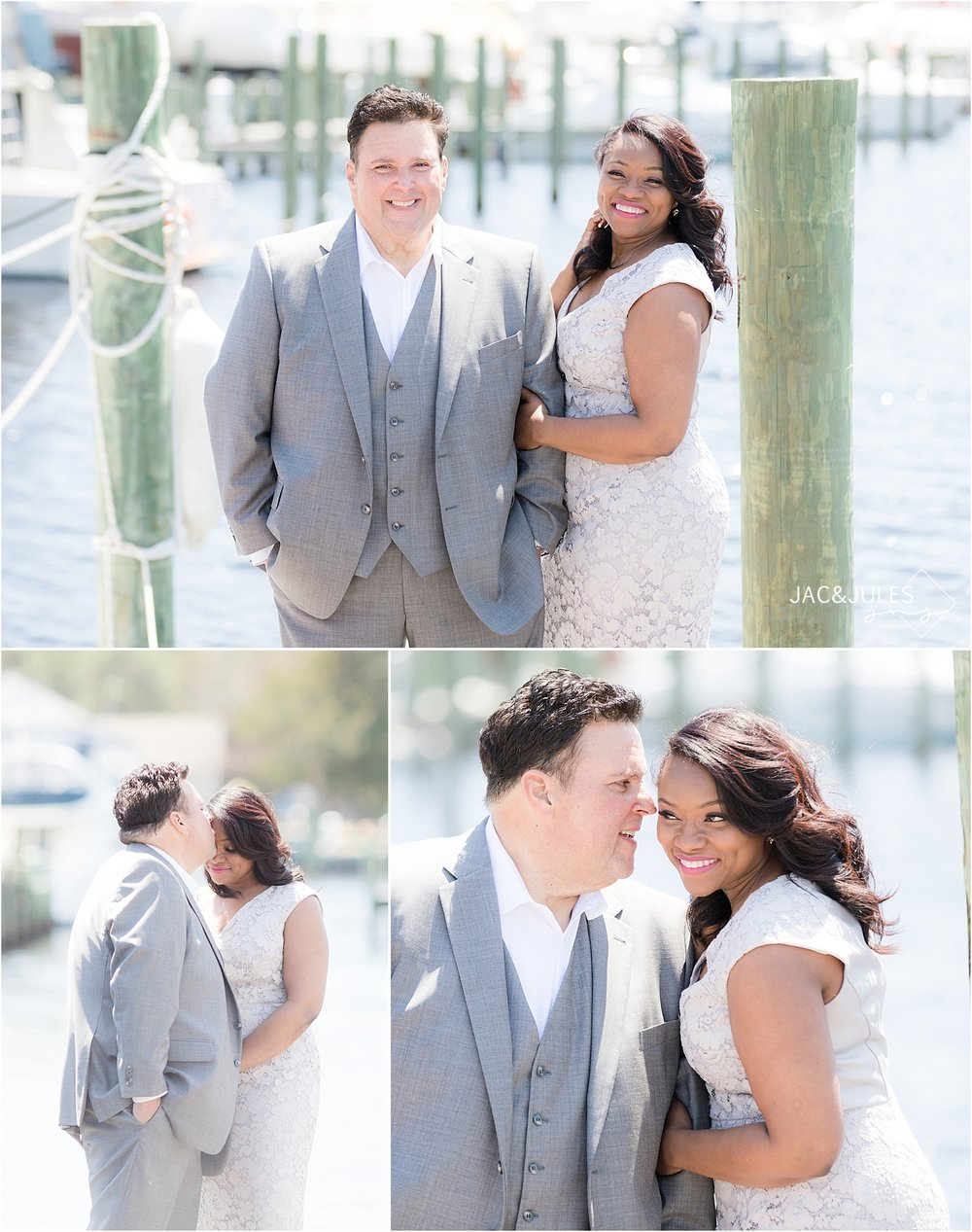 natural light wedding photos in forked river nj