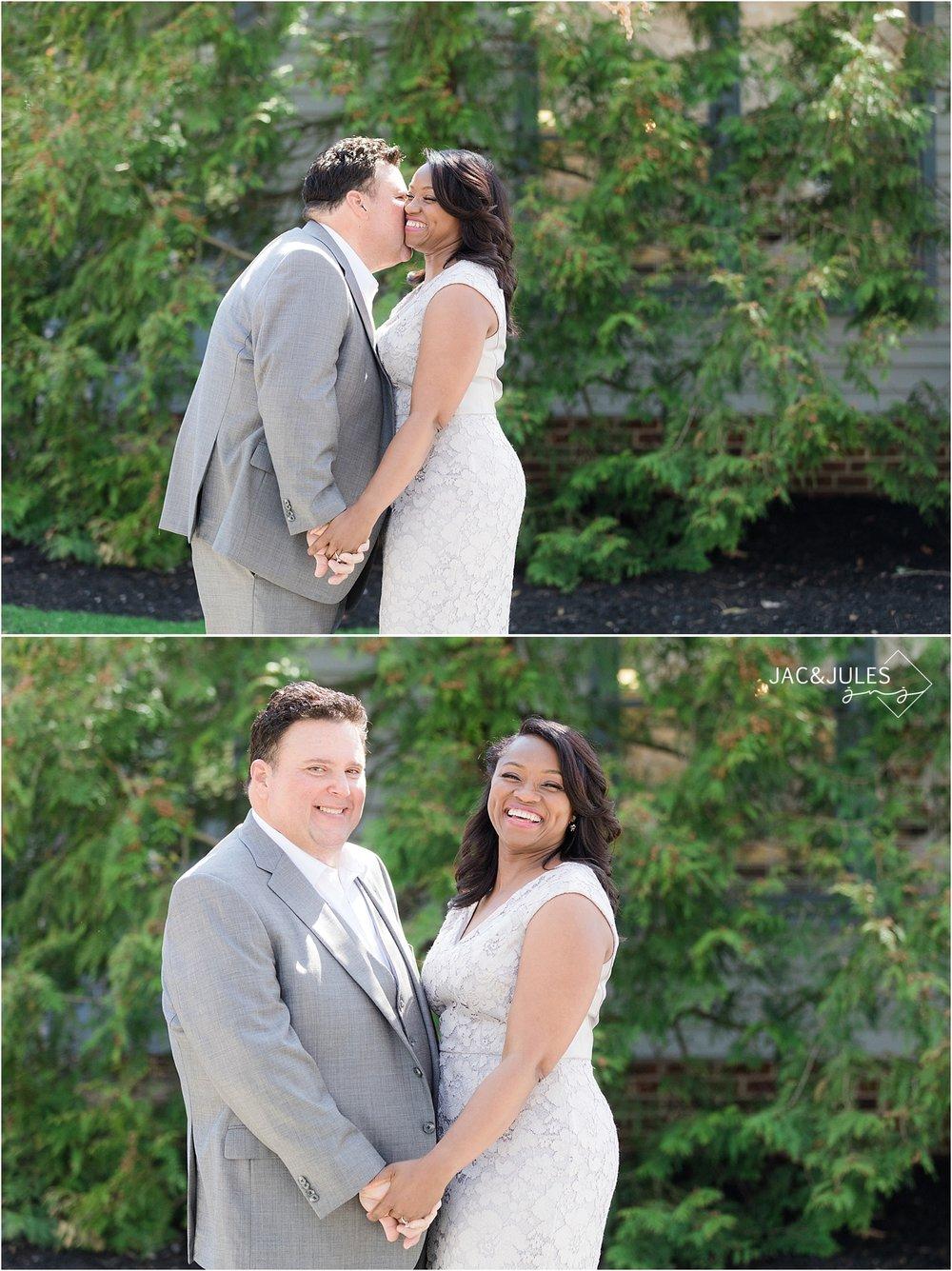 romantic wedding portraits in smithville nj