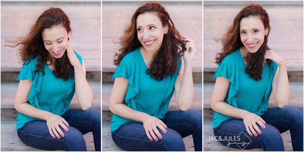 pretty lifestyle headshots by Stella Marina in Asbury Park, NJ.