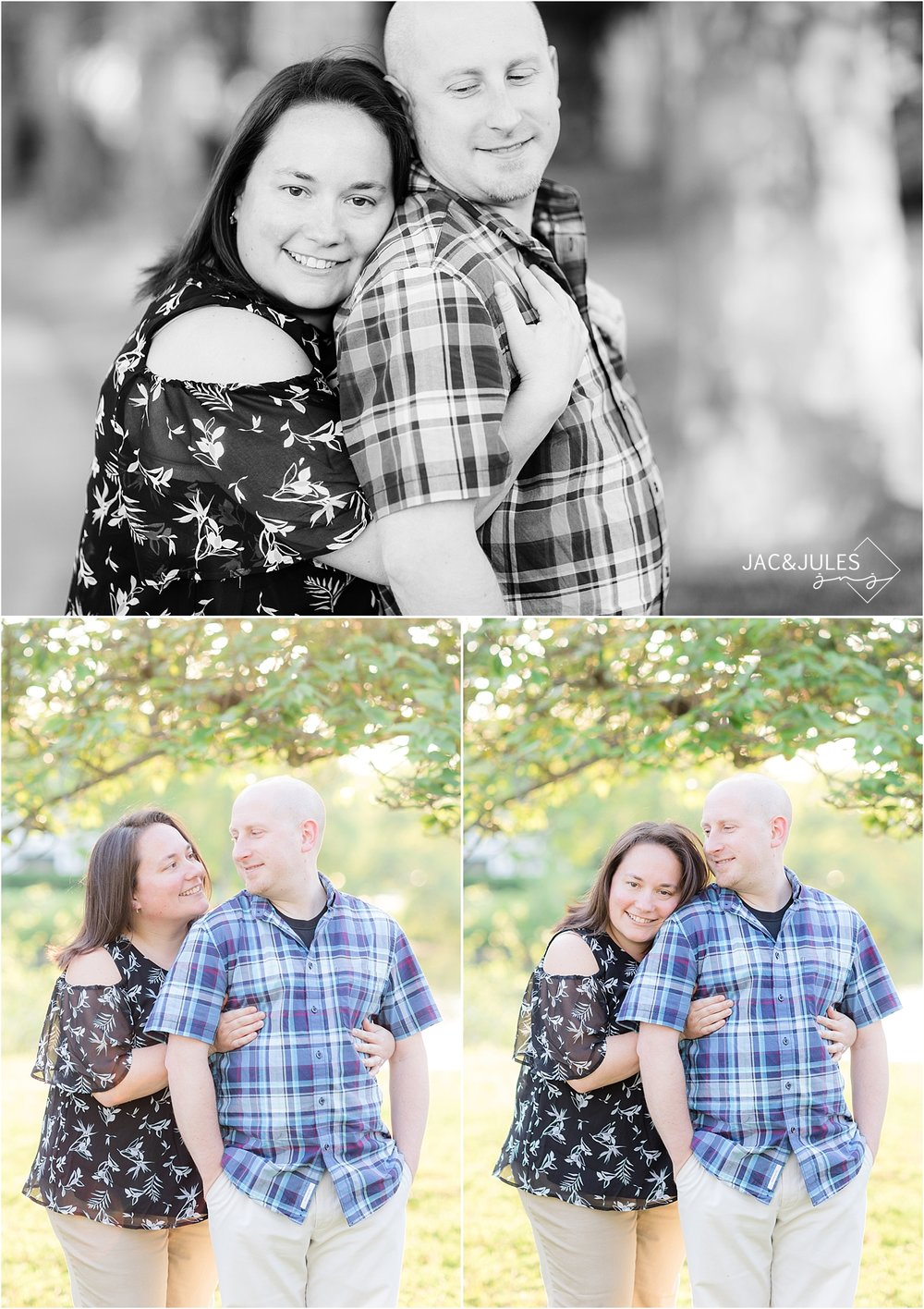 divine park engagement photo