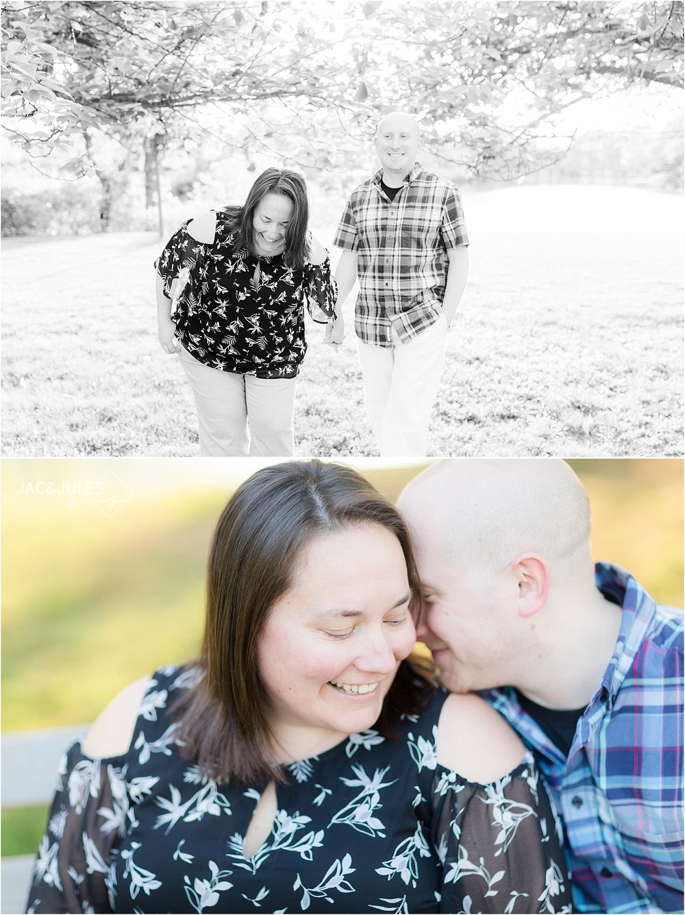 engagement pictures in spring lake nj