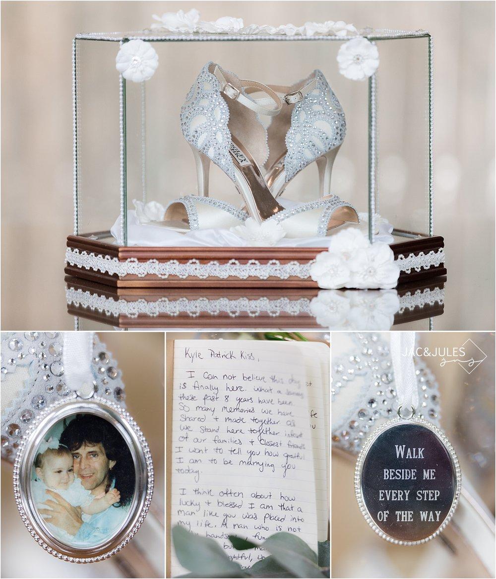bridal details at olde mill inn