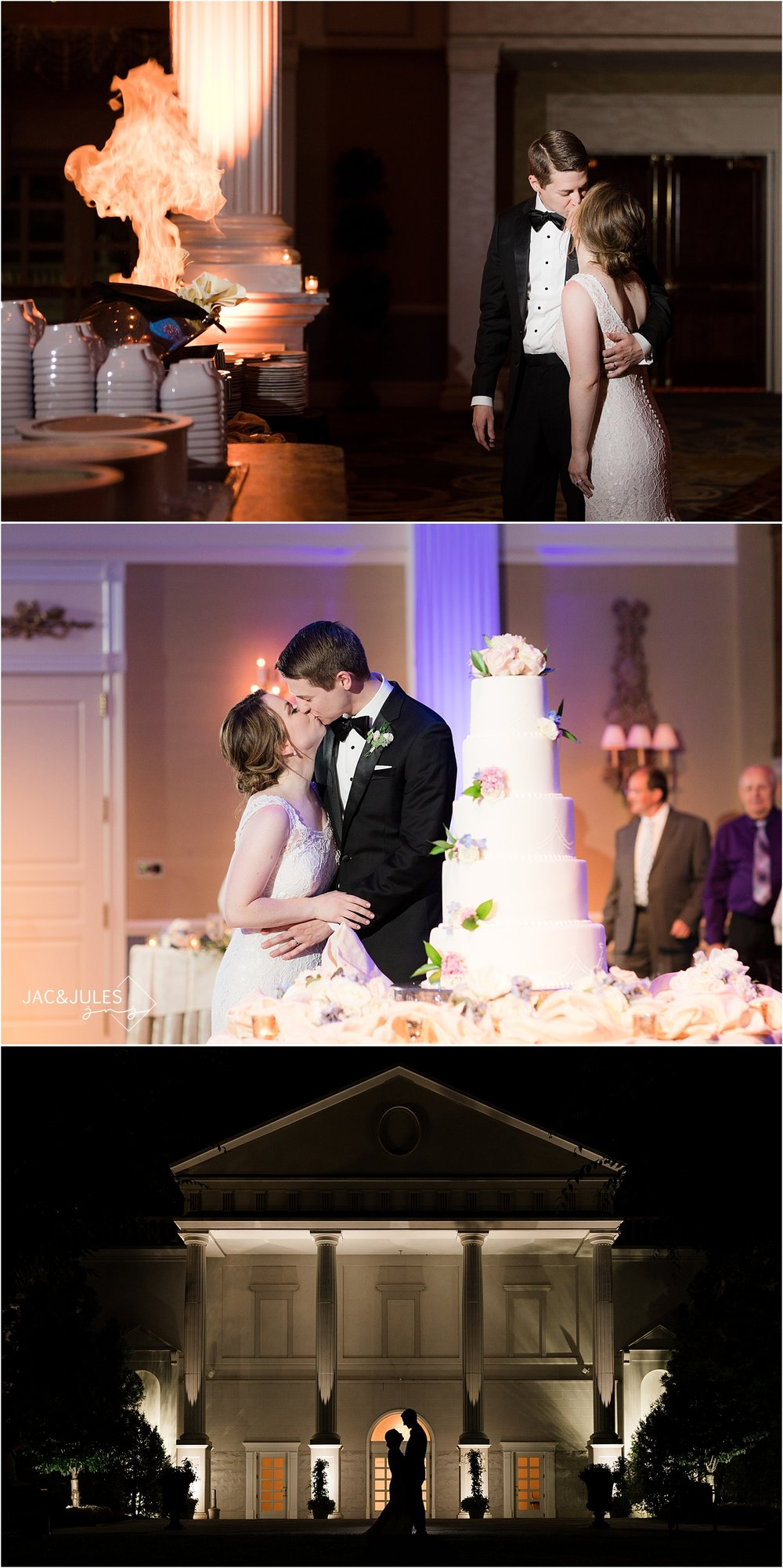 Elegant Wedding At The Palace At Somerset Park Romantic Nj Wedding