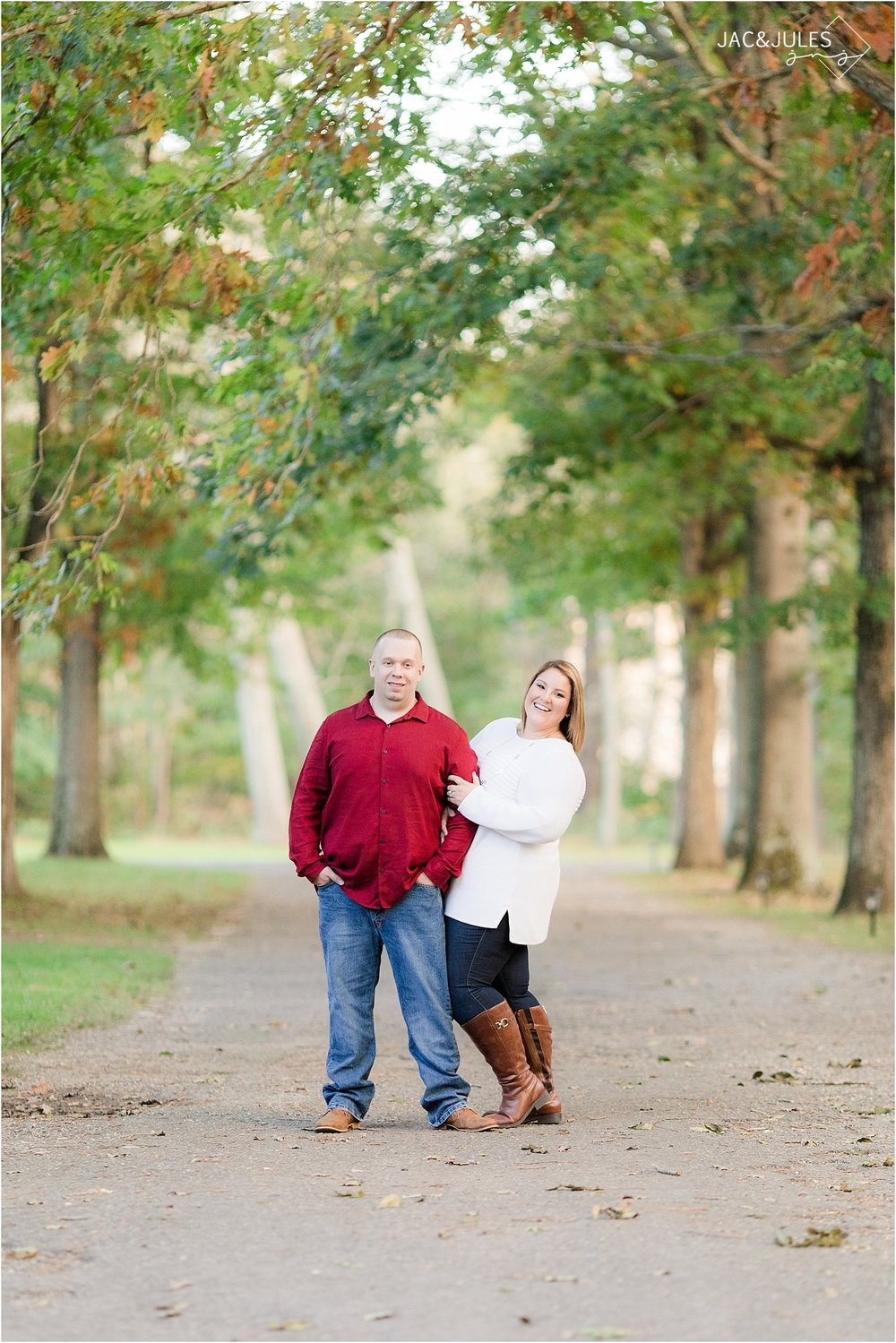 engagement at allaire state park nj