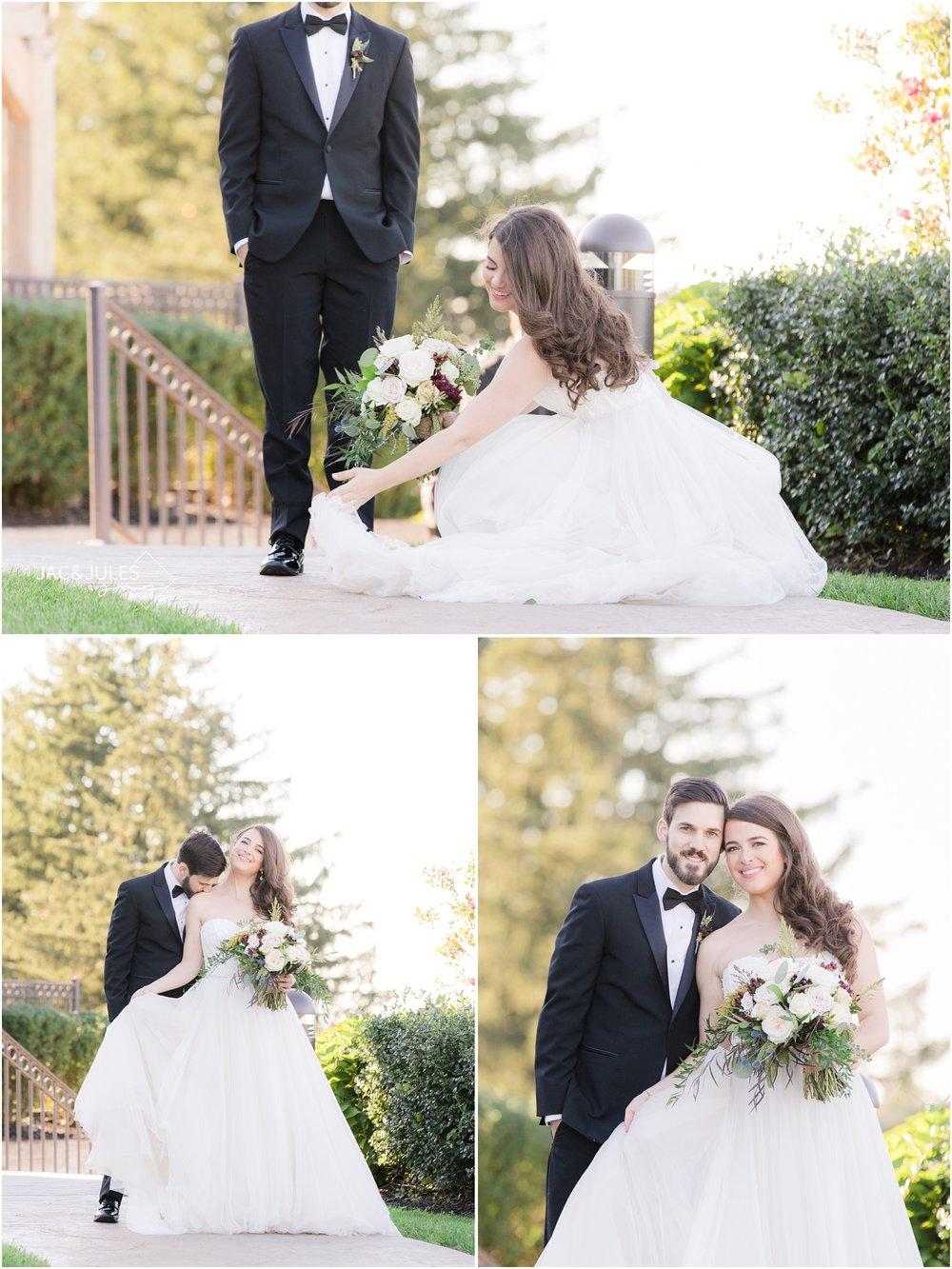 wedding photos at Laurita Winery.