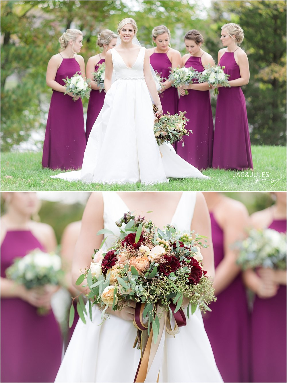 fall wedding at covered bridge barn in germantown NY