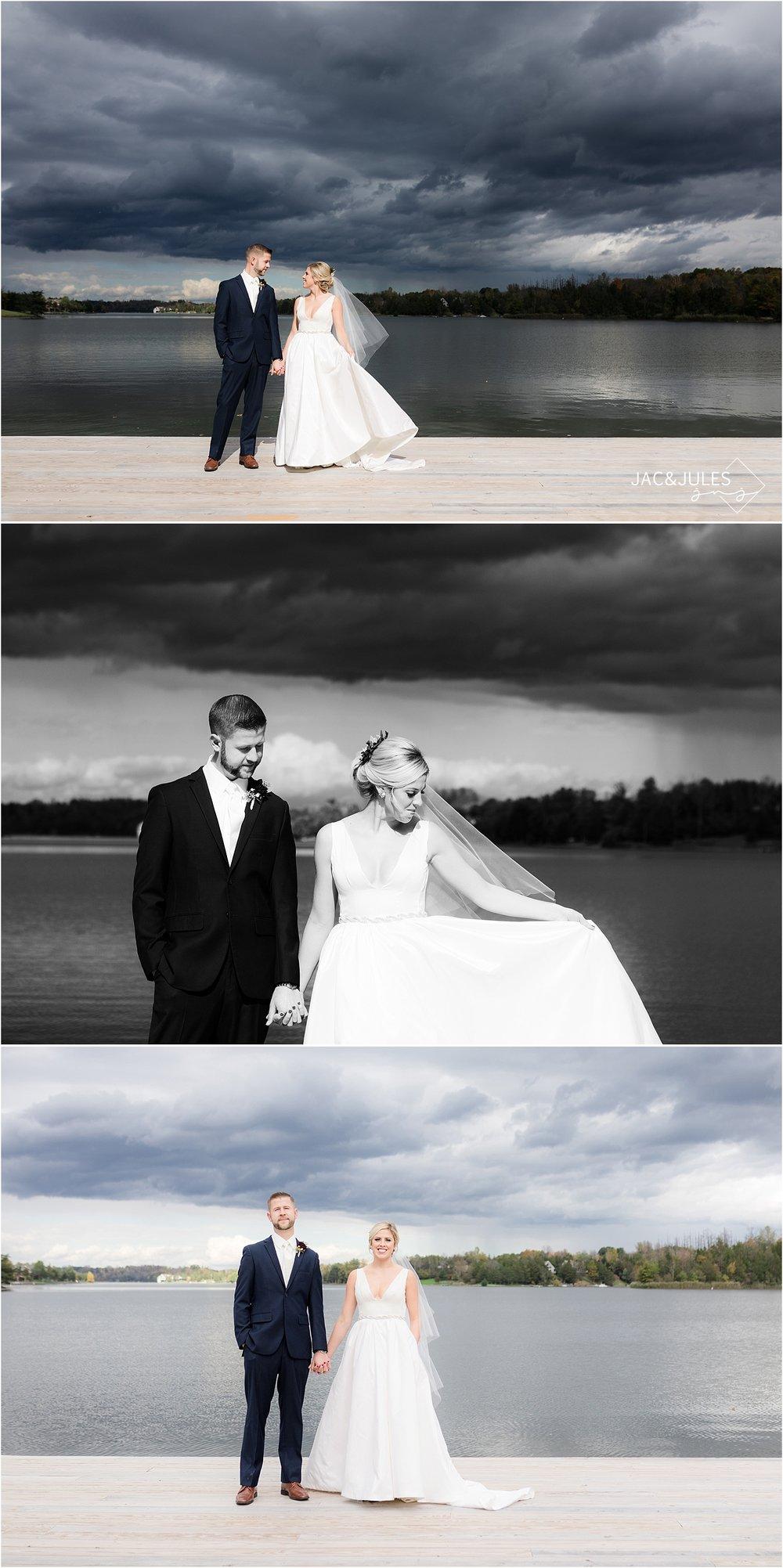lakeside wedding in upstate NY