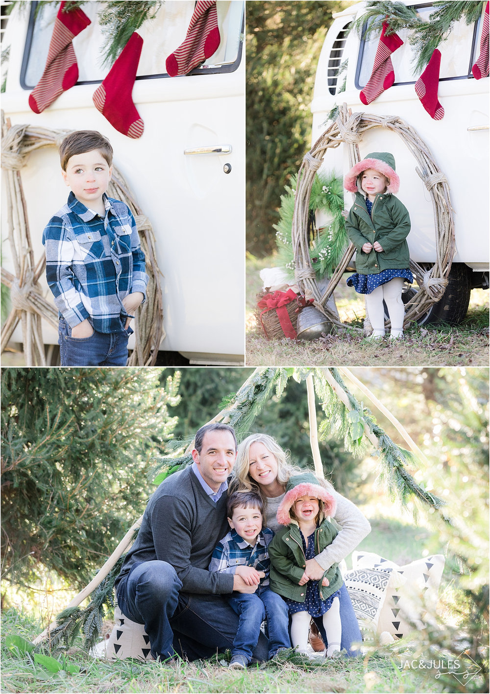 fun holiday photos in NJ