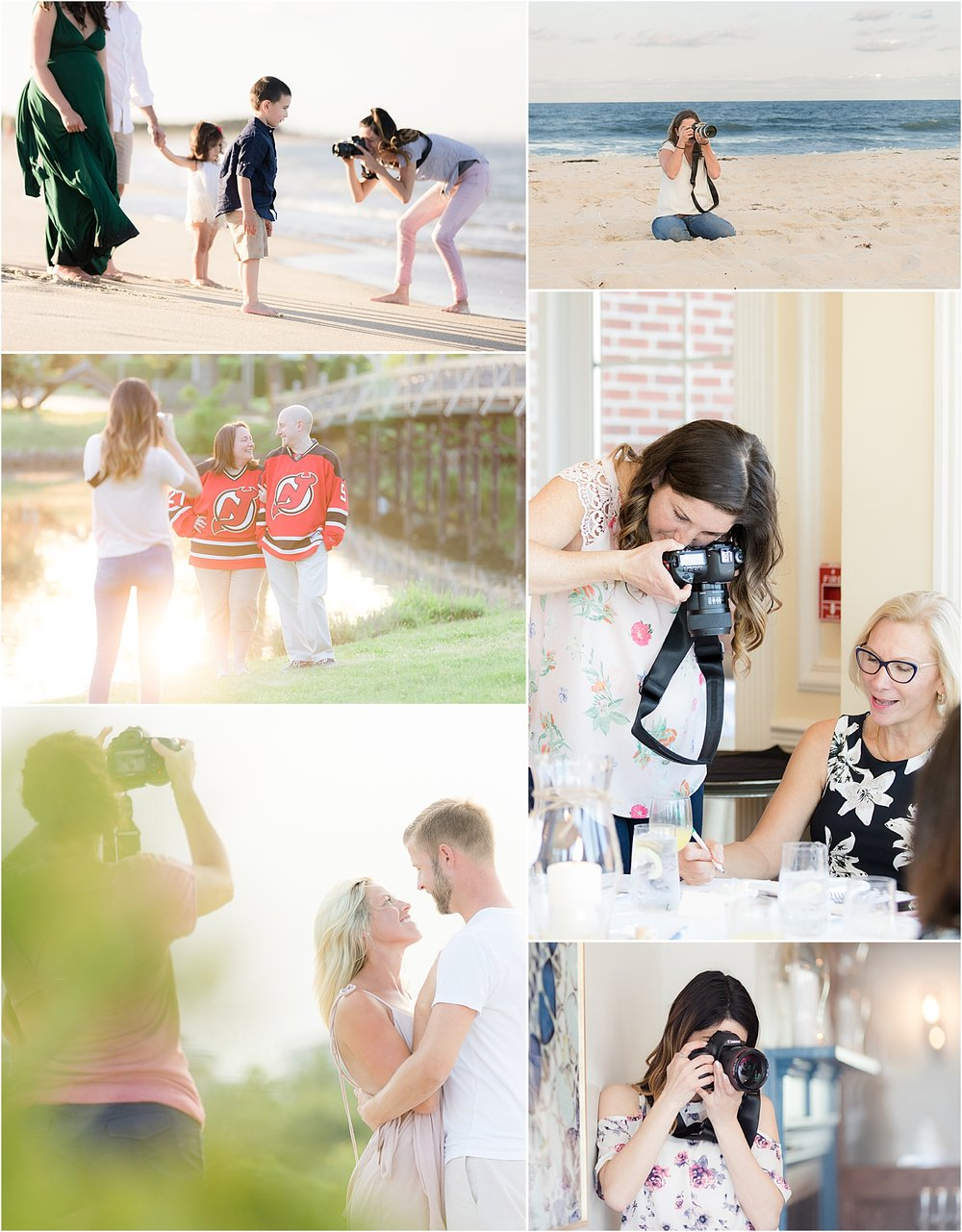 behind the scenes with fun nj family photographers