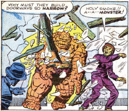 Fantastic Four #1, page 4, panel 1