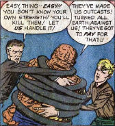 Fantastic Four #2, page 18, panel 3