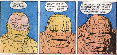 Fantastic Four #2, page 21, panels 4-6