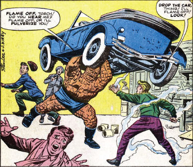 Fantastic Four #4, page 6, panel 1