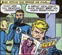 Fantastic Four #5, page 2, panel 4