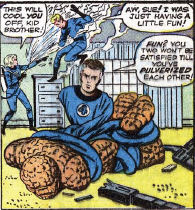 Fantastic Four #5, page 3, panel 2