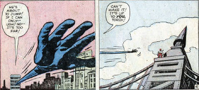 Fantastic Four #8, page 4, panels 6-7