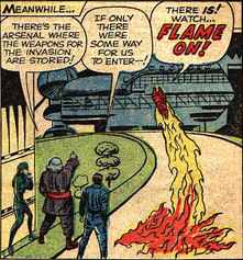Strange Tales #103, page 9, panel 2