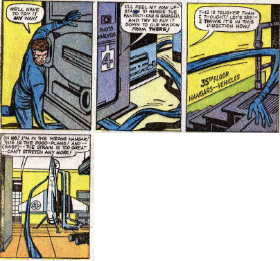 Fantastic Four #10, page 2, panels 3-6