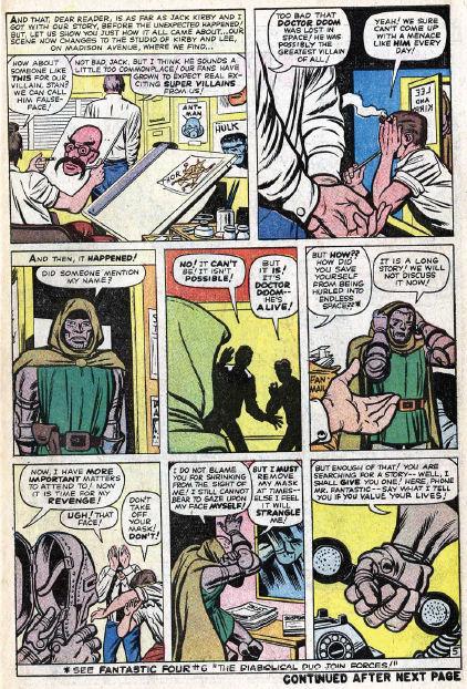 Fantastic Four #10, page 5