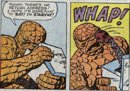 Fantastic Four #11, page 4, panels 3-4