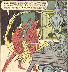 Strange Tales #105, page 5, panel 2