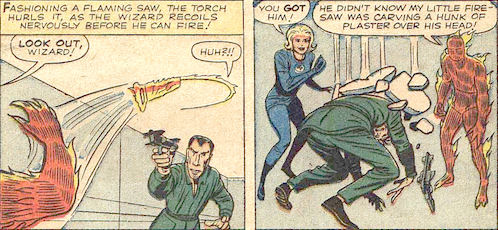 Strange Tales #105, page 12, panels 3-4