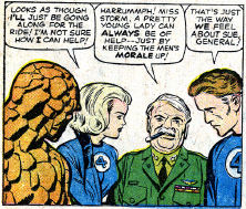 Fantastic Four #12, page 8, panel 3