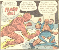 Strange Tales #106, page 5, panel 5