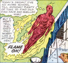 Strange Tales #107, page 2, panel 6