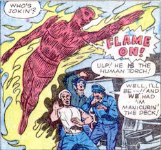 Strange Tales #107, page 5, panel 2