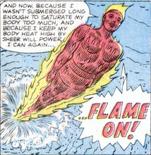 Strange Tales #107, page 10, panel 5