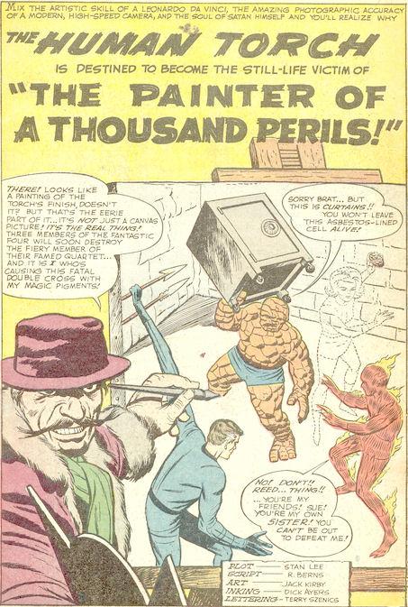 Strange Tales #108, page  1