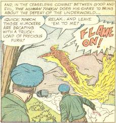 Strange Tales #108, page 2, panel 2