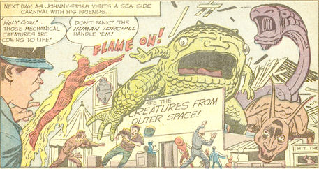 Strange Tales #108, page 11, panel 1
