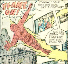 Strange Tales #109, page 3, panel 5