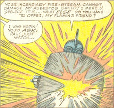 Strange Tales #111, page 9, panel 4