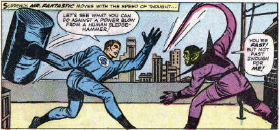 Fantastic Four #18, page 13, panel 3